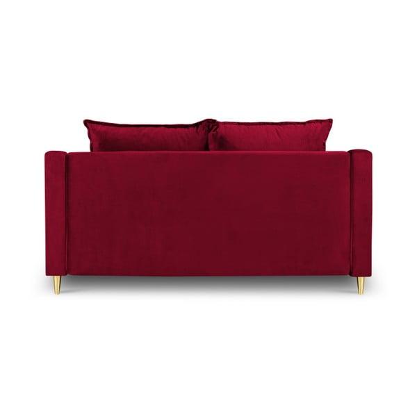 Červená dvoumístná pohovka Mazzini Sofas Pansy