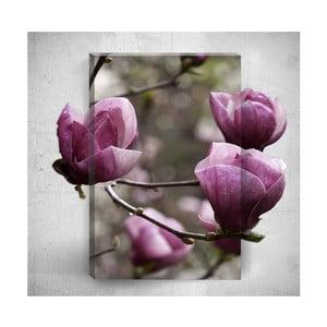 Nástěnný 3D obraz Mosticx Autumn Tree Flowers, 40 x 60 cm