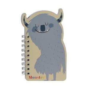 Zápisník strašidýlko Rex London Monsters Of The World