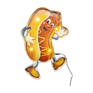 Nástěnné LED svítidlo s motivem hot-dogu Kare Design Sausage, šířka 30,5 cm