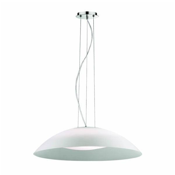 Bílé závěsné svítidlo Evergreen Lights Xenia