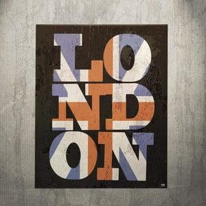 Cedule London, 56x45 cm