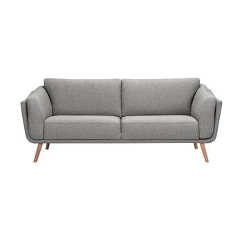 Canapea cu 3 locuri HARPER MAISON Livia gri deschis