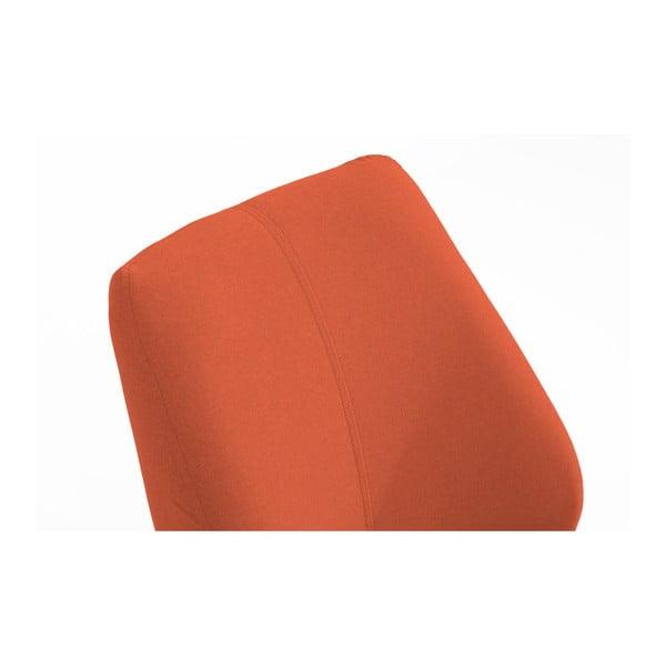 Oranžové křeslo Max Winzer Todd