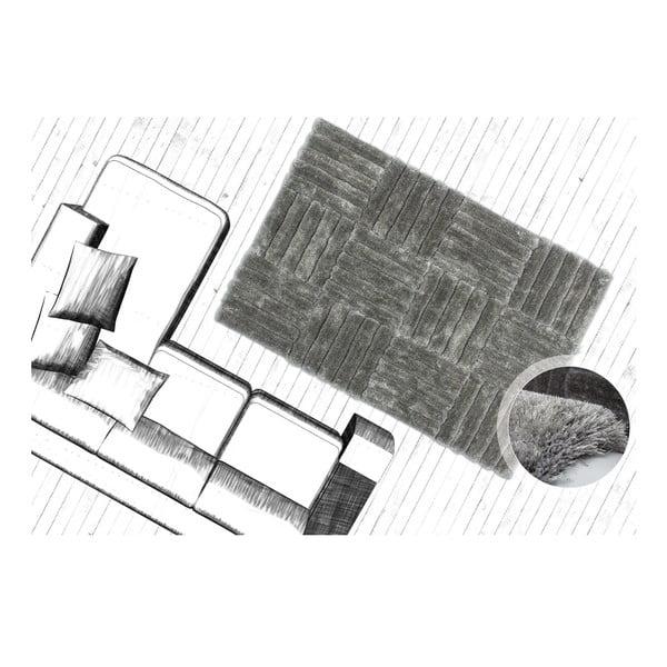 Koberec Solstice 120x170 cm, stříbrný