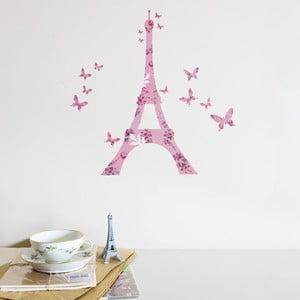 Samolepka na zeď Eiffel Tower Decal, 20x30 cm