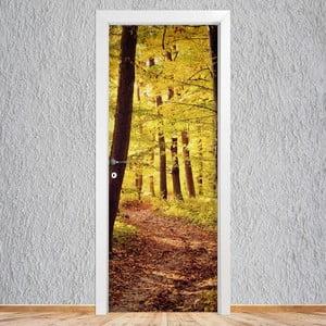 Samolepka na dveře LineArtistica Autunno, 80 x 215 cm