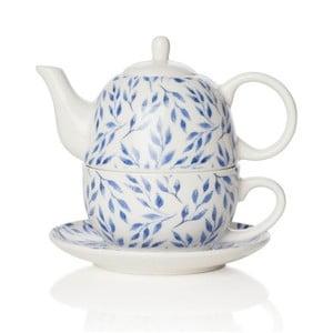 Ceainic cu farfurioară din porțelan Sabichi Beatrice