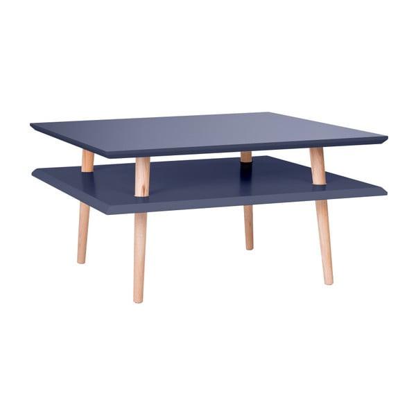 Grafitově šedý konferenční stolek Ragaba Square, 68x68cm