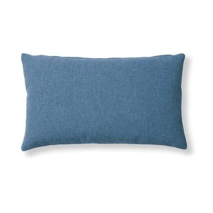 Tmnavě modrý polštář La Forma Mak, 30 x 50 cm