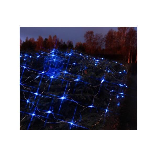 Svítící dekorace Light Network Blue/Black, 2 m