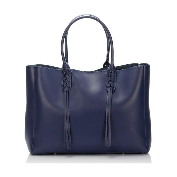 Kožená kabelka Lisa Minardi 2508 Blue