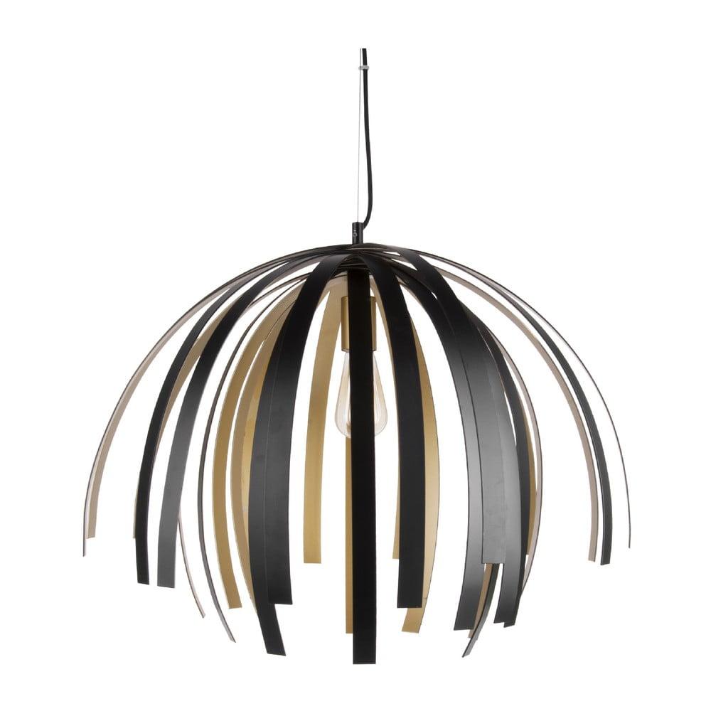 Stropní svítidlo v černo-zlaté barvě Leitmotiv Willow Large