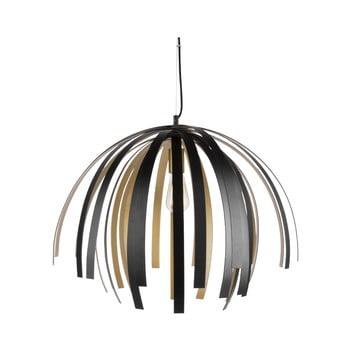 Lustră Leitmotiv Willow Large, negru – auriu de la Leitmotiv