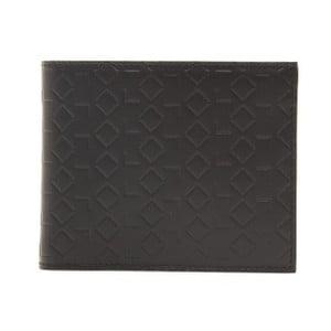 Černá kožená pánská peněženka Alviero Martini Basso Duro