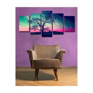 5dílný obraz Tree Randona