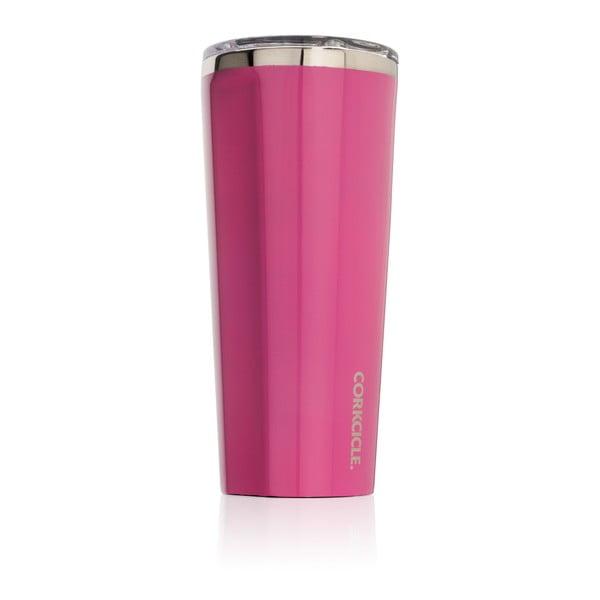 Růžový termohrnek Corkcicle, 700ml