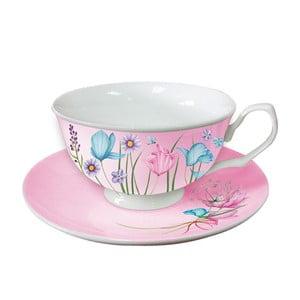 Sada 2 šálků na cappucino Pink Cups