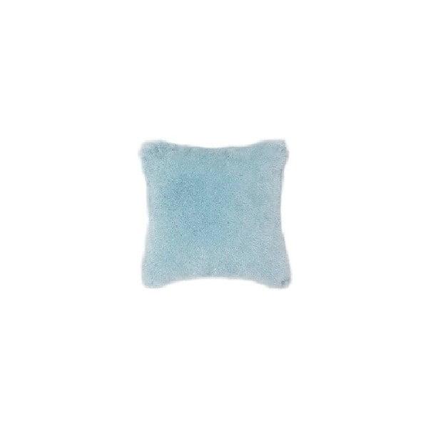 Fluffy kék párnahuzat, 45 x 45 cm - Tiseco Home Studio