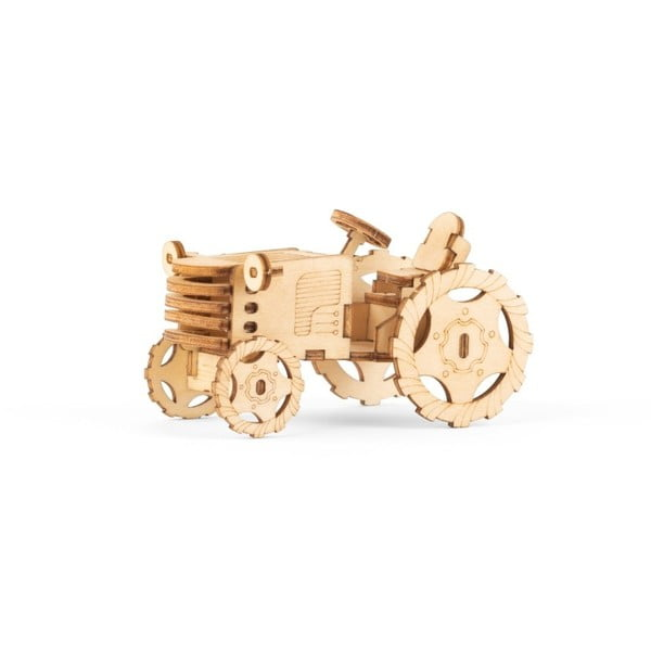 Tractor 3D fa puzzle - Kikkerland