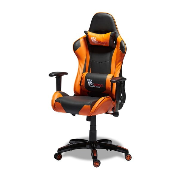 Gaming fekete-narancssárga ergonomikus irodai szék - Furnhouse