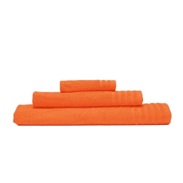 Sada 3 ručníků Flamenco Naranja