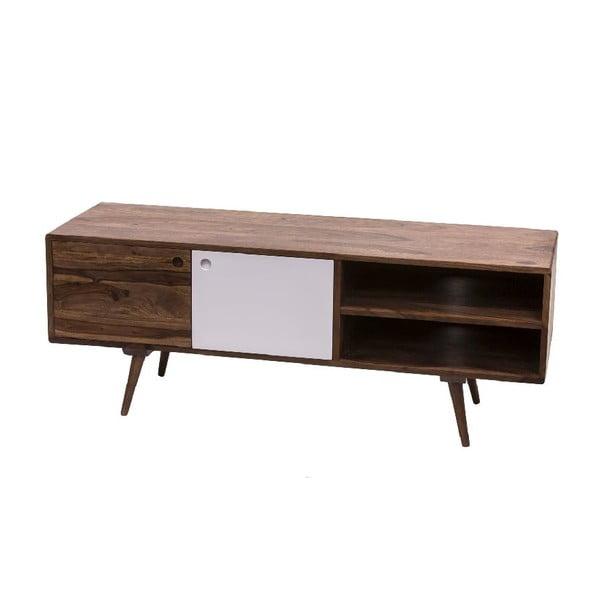 TV stolek Sportelli Bianco, 130x50x40 cm