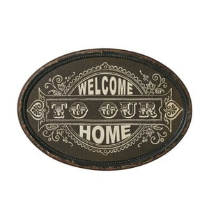 Cedule Welcome home, 50x35 cm