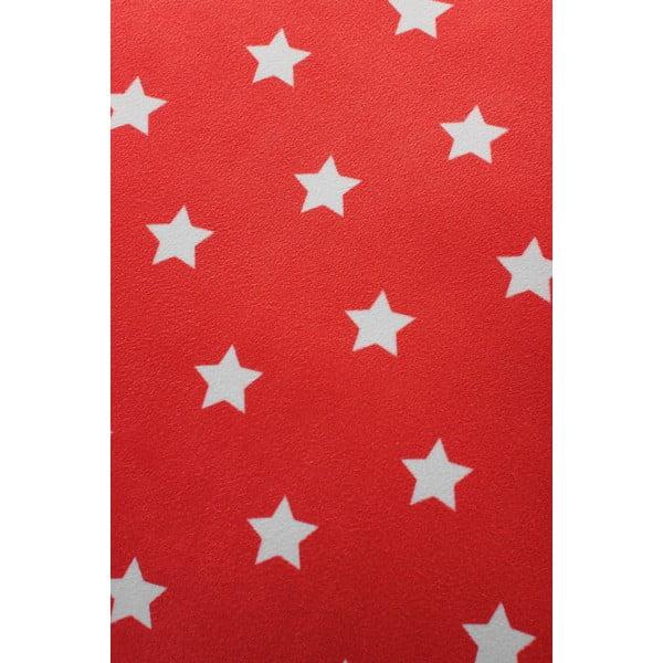 Polštář Star 45x45 cm, červený