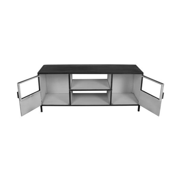 Šedo-bílý TV stolek HSM collection Bronx