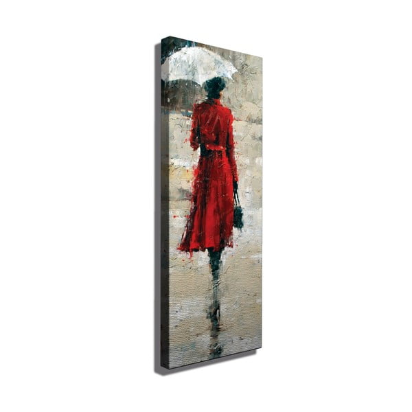 Obraz na plátně Leila, 30x80cm
