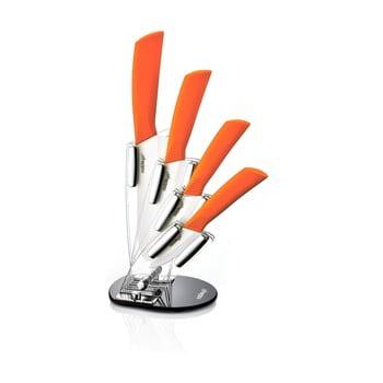 Set 5 cuțite din ceramică cu suport Ypatios imagine
