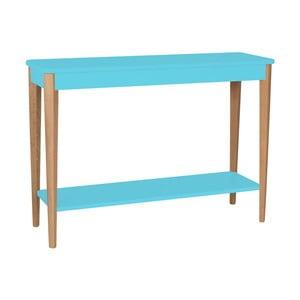 Tyrkysový konzolový stolek Ragaba Ashme, šířka105cm