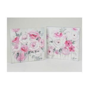 Plátna Floral Roses 50x50 cm, 2 ks