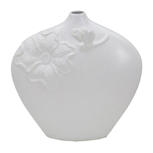 Fleur fehér porcelánváza - Mauro Ferretti