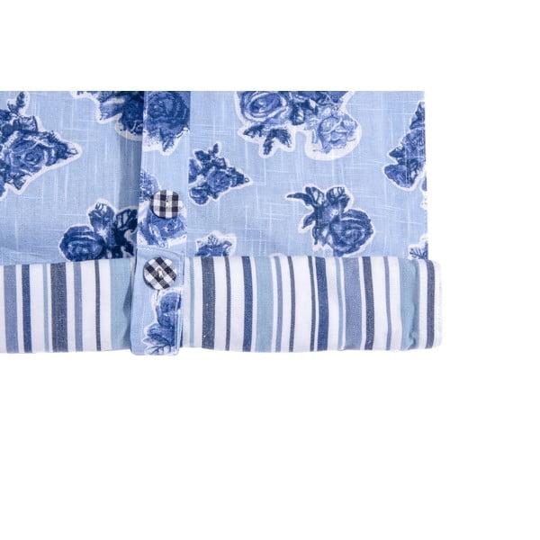 Římská roleta Vildros 120x90 cm, modrá