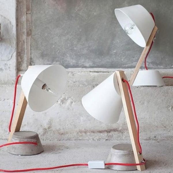 Stolní lampa Concrete Potstand, 33 cm
