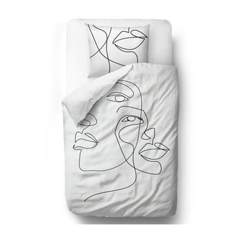 Lenjerie de pat din bumbac satinat Butter Kings Infinity, 200 x 200 cm