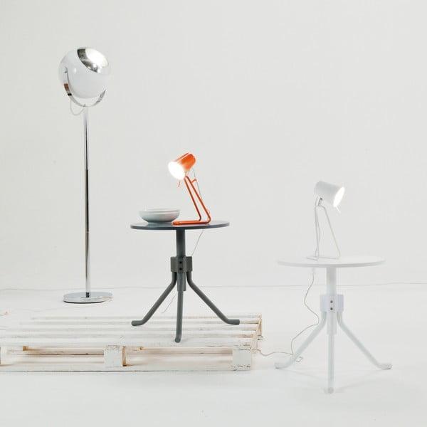 Bílá stolní lampa Present Time Z Metal