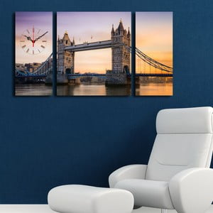 Obrazové hodiny London Bridge