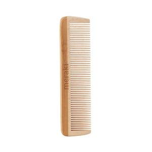 Pieptene din lemn Meraki Comb, lungime 12 cm