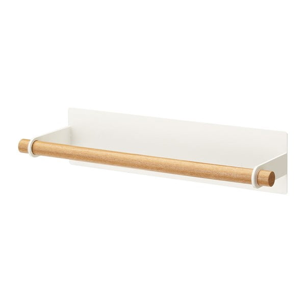 Suport magnetic pentru prosoape de bucătărie YAMAZAKI Tosca, alb