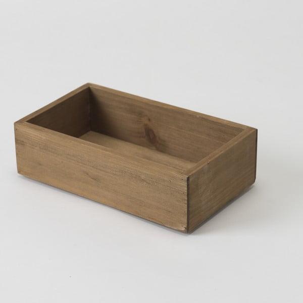 Dřevěný box Compactor Vintage Box, 14x24cm