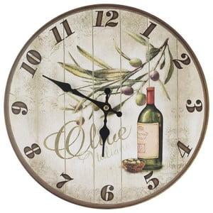 Hodiny Wine, 34 cm