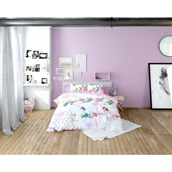 Lenjerie de pat din bumbac Dreamhouse So Cute Sam, 160 x 200 cm