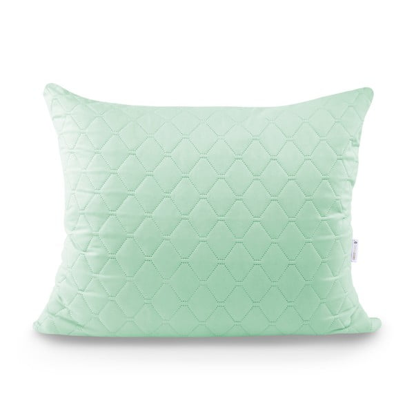 Světle zelený povlak na polštář z mikrovlákna DecoKing Axel, 50 x 60 cm