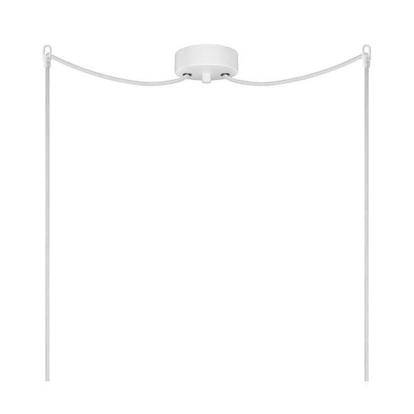 Dvojité světlo UME Elementary, matná opálová/bílá/bílá