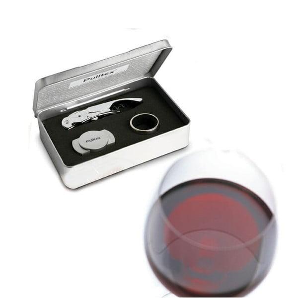 Dárkový vinný set Pullparrot Wine de Luxe Pulltex
