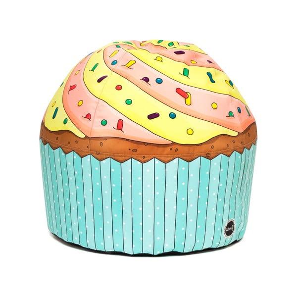 Sedací vak Cupcake Lemon