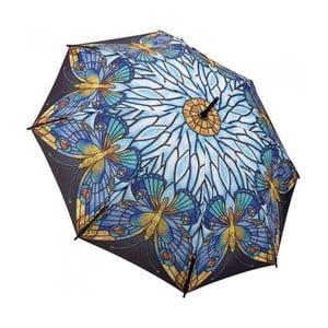 Deštník Art Collection, tiffany butterfly